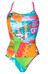 arena Collage - Maillot de bain Femme - Light Drop Back Multicolore